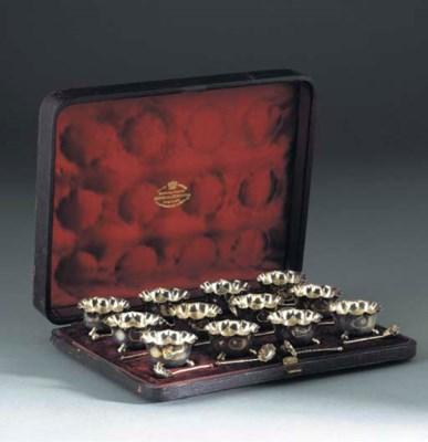A Cased Set of Twelve Victoria