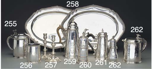 Two Similar George II Silver C
