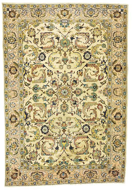 A Shoari Tabriz carpet, North-