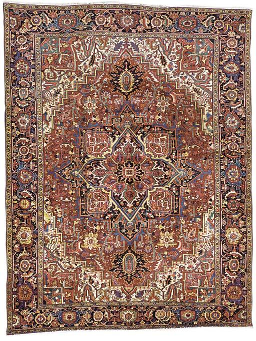 A fine Heriz carpet, North-Wes