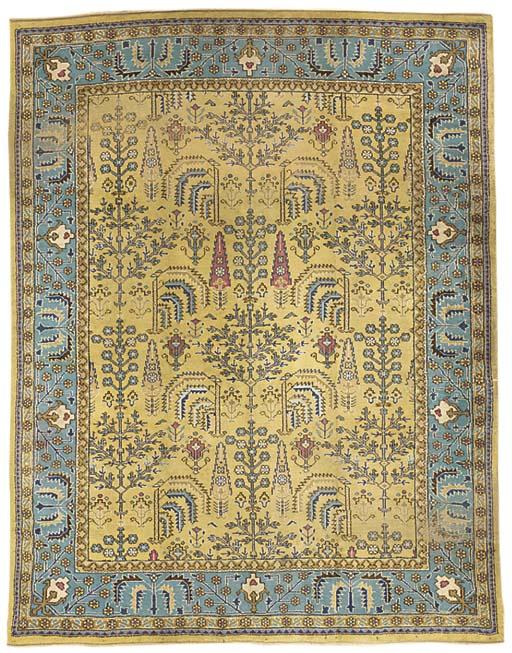 Ushak design carpet, British I