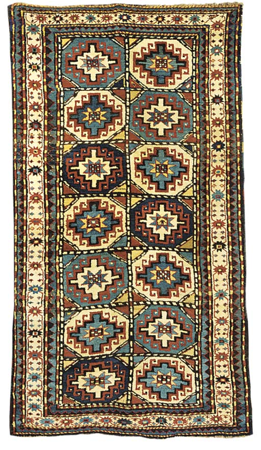 An antique Moghan rug, South E