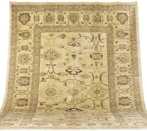 A modern Ziegler carpet, Sulta