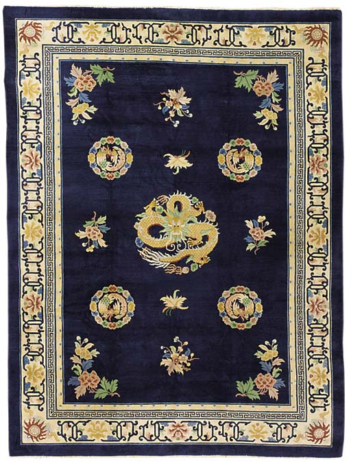 A fine Chinese carpet