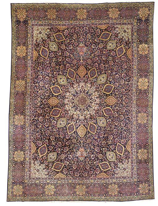 A Tabriz carpet of Ardebil des