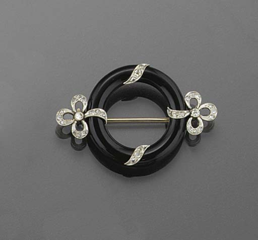 An Art Deco rose-cut diamond a