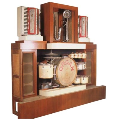 A Decap 105-key Jazz Organ Ele