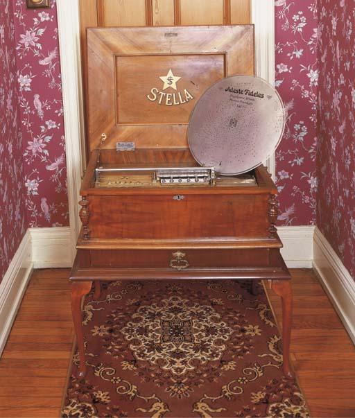 A 17-inch Stella Disc musical