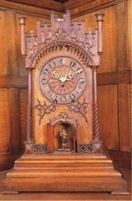 A Trumpeter Clock