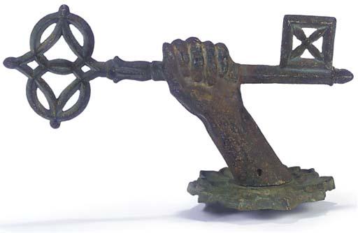 A cast iron locksmith's trade