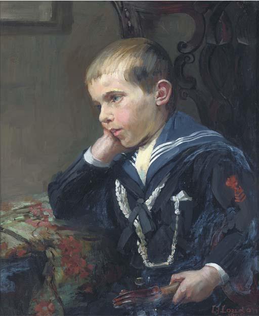 C. J. Loudon, circa 1908