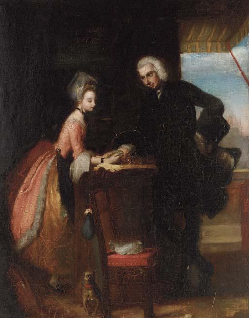 After Gilbert Stuart Newton, R