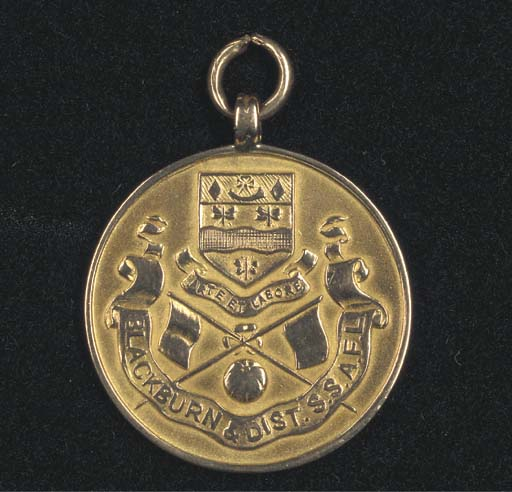 A 9CT GOLD MEDAL