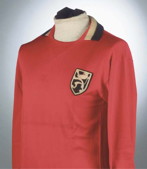 A RED BELGIUM INTERNATIONAL SHIRT
