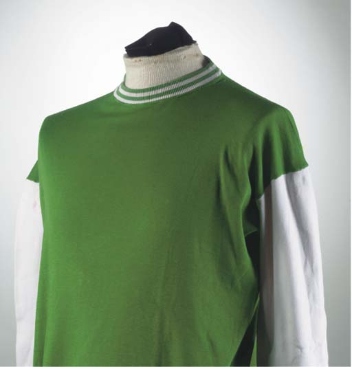 A GREEN AND WHITE HIBERNIAN SH