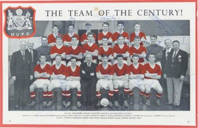 A MANCHESTER UNITED TEAM LINE-