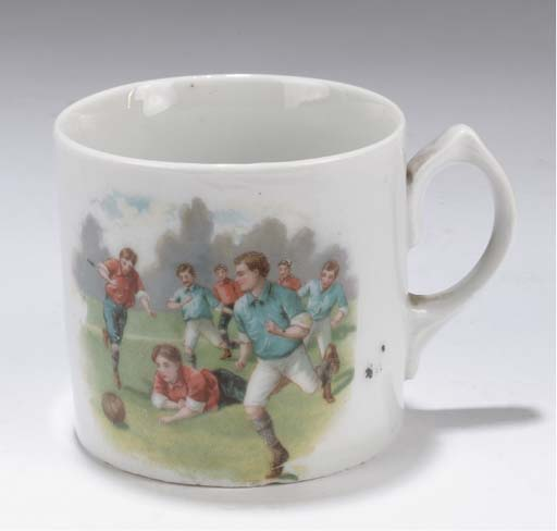 A STAFFORDSHIRE LATE 19TH/EARL