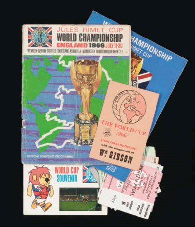 ENGLAND V. WEST GERMANY WORLD