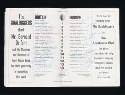 GREAT BRITAIN V. EUROPE INTERN