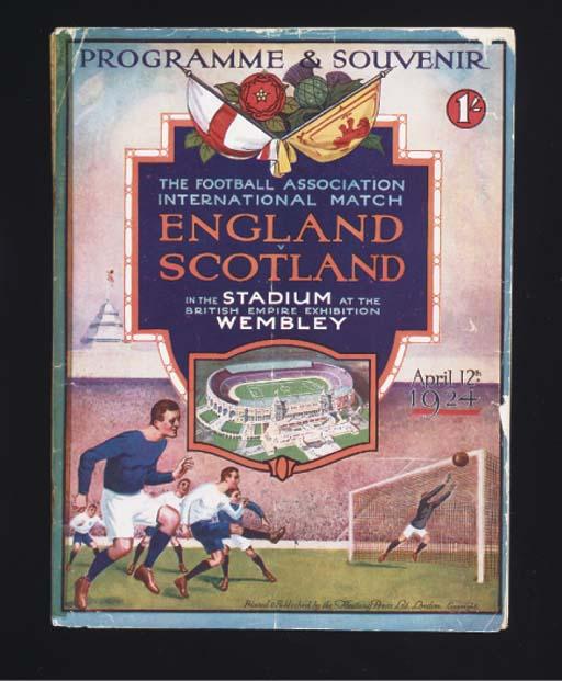 AN ENGLAND V. SCOTLAND INTERNA