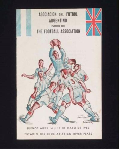 AN ARGENTINA V. ENGLAND INTERN
