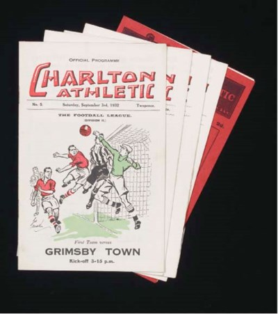 FIVE CHARLTON ATHLETIC HOME MA