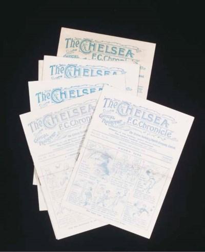 SEVEN CHELSEA HOME MATCH PROGR