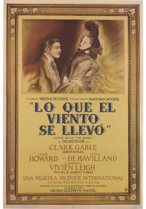 Gone With The Wind/Lo Que El V