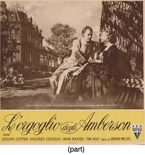 The Magnificent Ambersons/L'Or