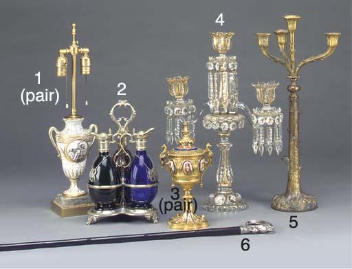 A William IV gilt bronze four