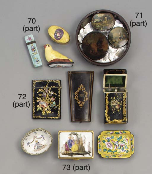 A collection of Chinese incise