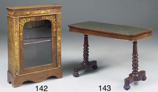 A Victorian writing table