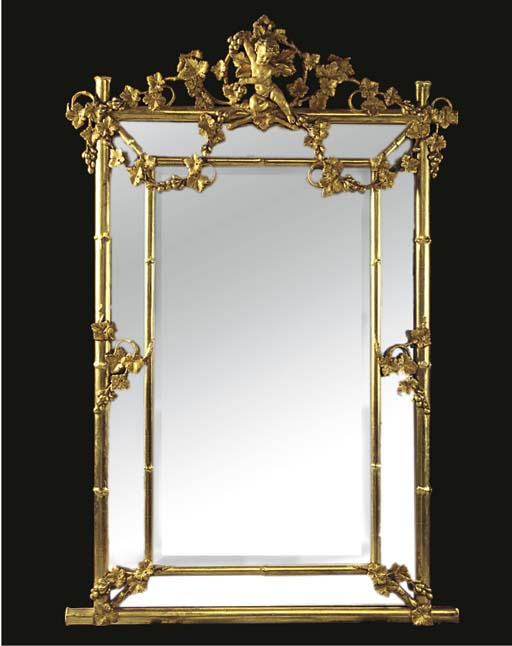 A FRENCH COMPOSITION GILT MARG