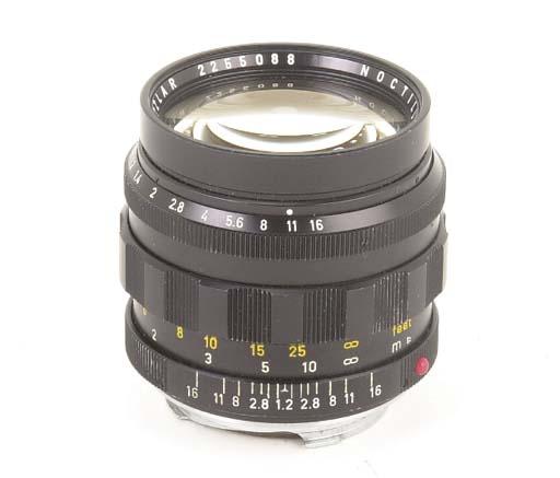 Noctilux f/1.2 50mm. no. 22550