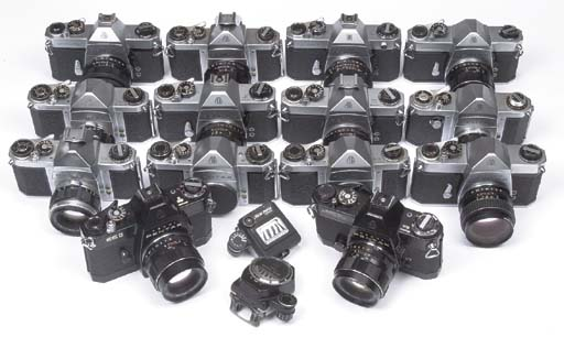 Pentax camera collection
