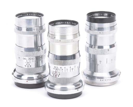 Contax-fit lenses