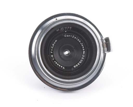 Tessar f/8 2.8cm. no. 2235269