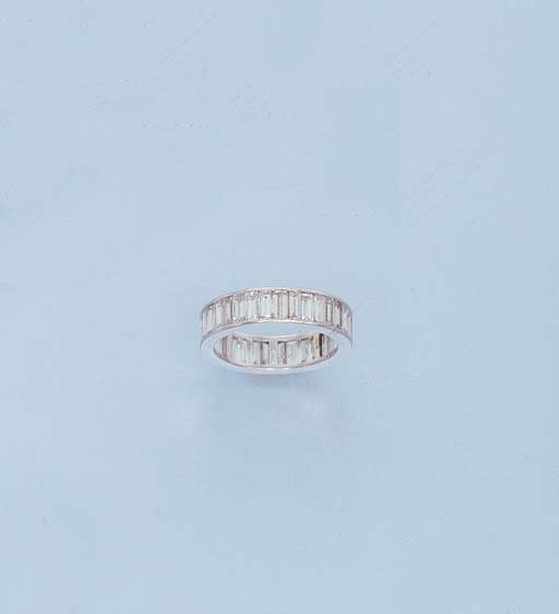 A DIAMOND ETERNITY RING, BY ME