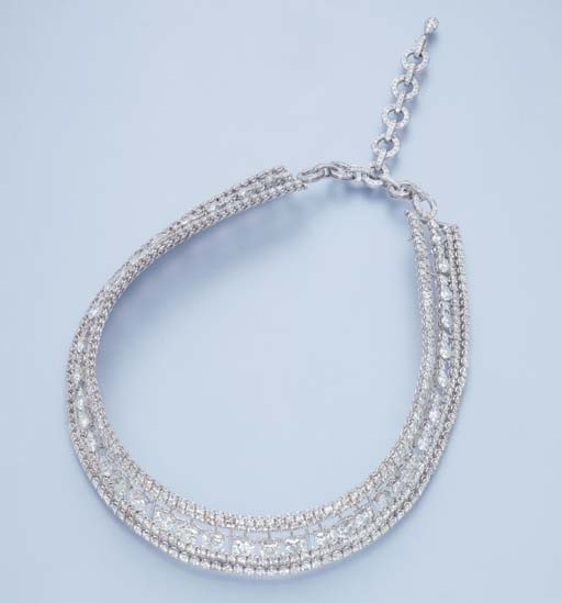 A DIAMOND CHOKER, BY MICHAEL Y