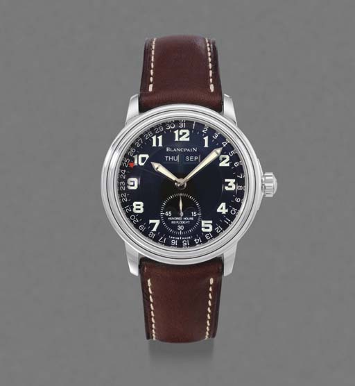 Blancpain. A stainless steel s