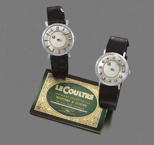 LeCoultre. A lot of two 14K wh
