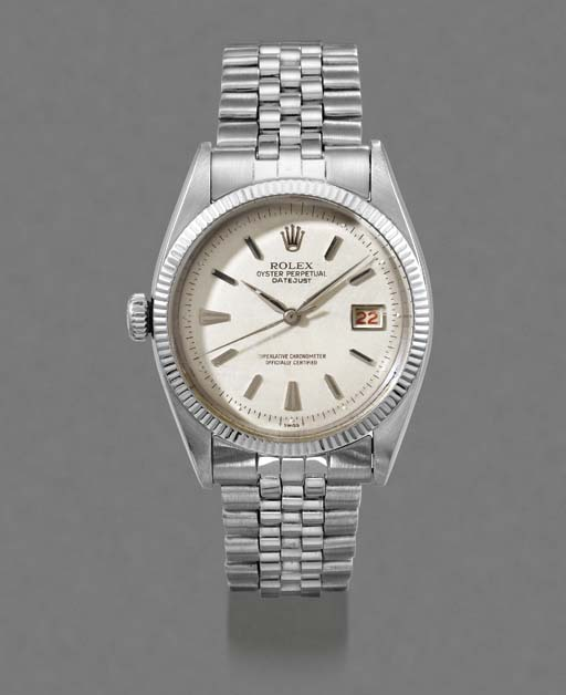 Rolex. An unusual stainless st