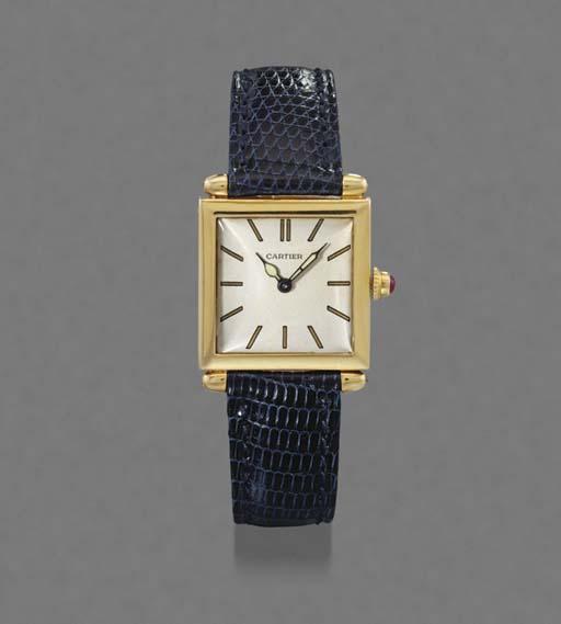 Cartier. A very fine and rare