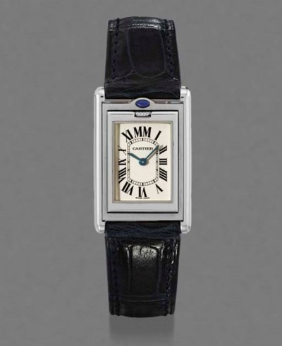 Cartier. A rare stainless stee