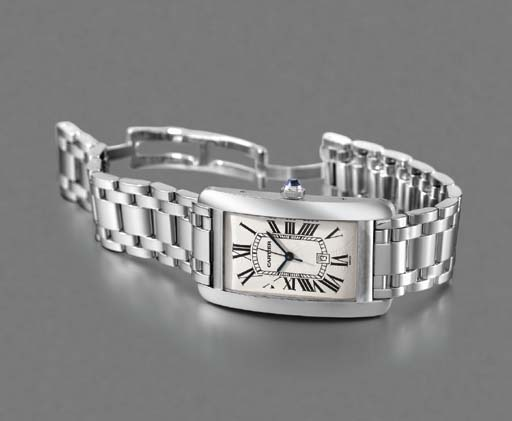 Cartier. An 18K white gold rec