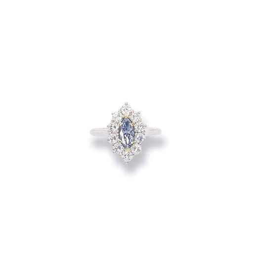 A FANCY INTENSE BLUE DIAMOND C