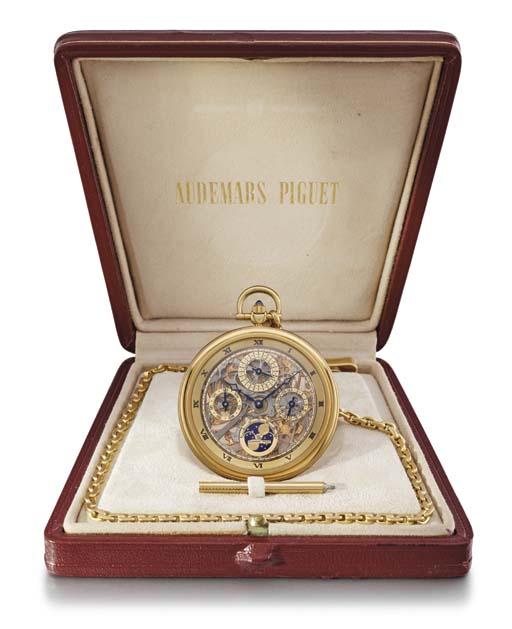 Audemars Piguet. A fine and ra