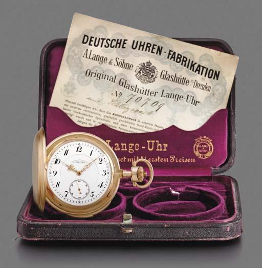 Deutsche Uhrenfabrikation Lang