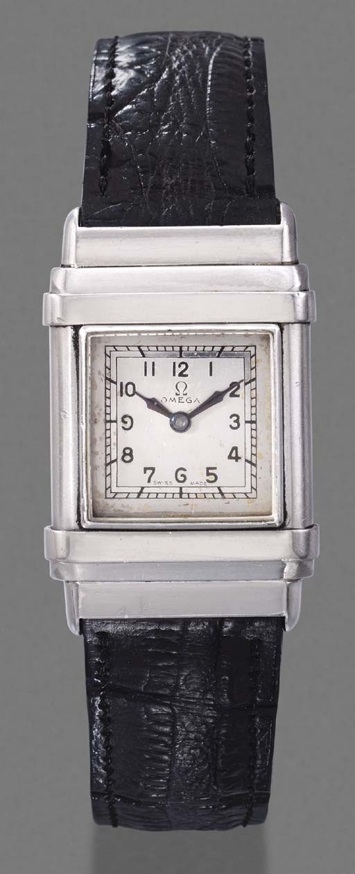 Omega. An early stainless stee