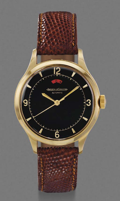 Jaeger-LeCoultre. A gilt stain